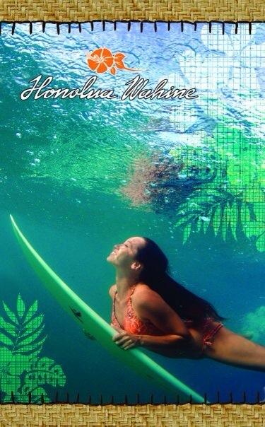 Honolua Surf Co - Tiare Duckdiving.JPG