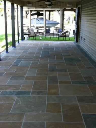 Concrete Stain, Creative Design & Coatings -