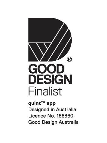 Good Design Logo Quint App Finalist Melina Leonello