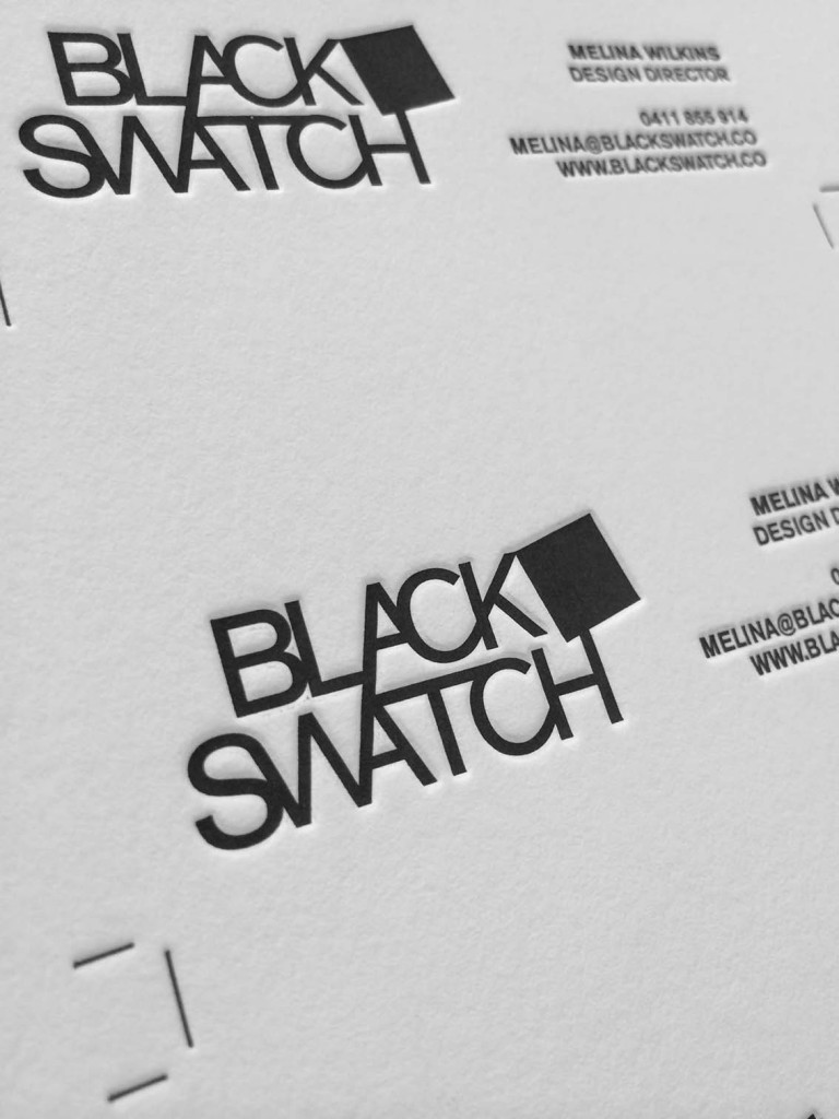 BLACK SWATCH LOGO