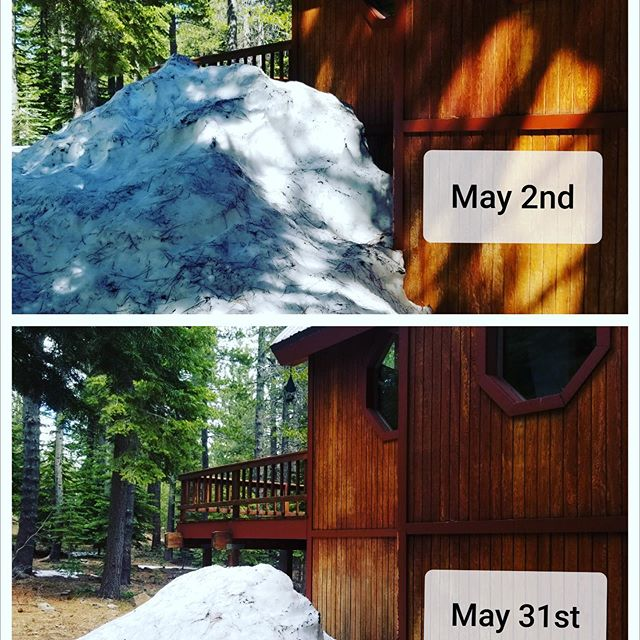 The Tahoe Donner snow melt continues! Check it out in our blog on secondhomecare.com...