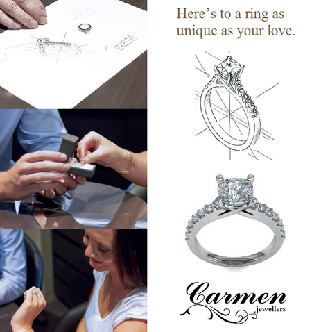 Your ideas, Our Design - Working with our highly skilled Jeweller, your experience will be made as easy and enjoyable as possible. From the stone to the setting, to the design,  you will have a say in every element of the process. Your dream jewellery piece is completed within 6-8 weeks.