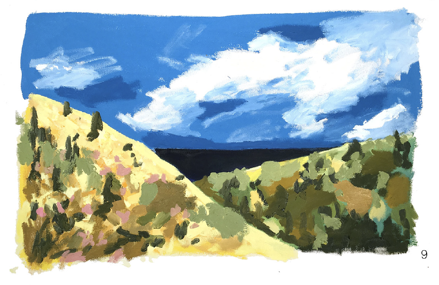 #9 - oil on canvas - 24 x 36