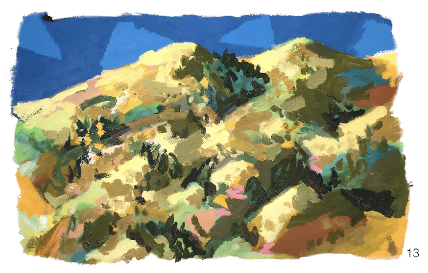 #13 - oil on canvas - 24 x 36