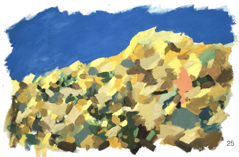 #25 - oil on canvas - 24 x 36