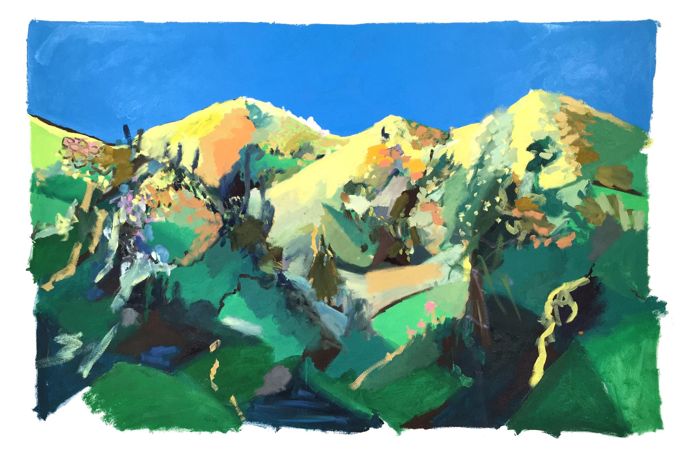 #27 - oil on canvas - 48 x 72