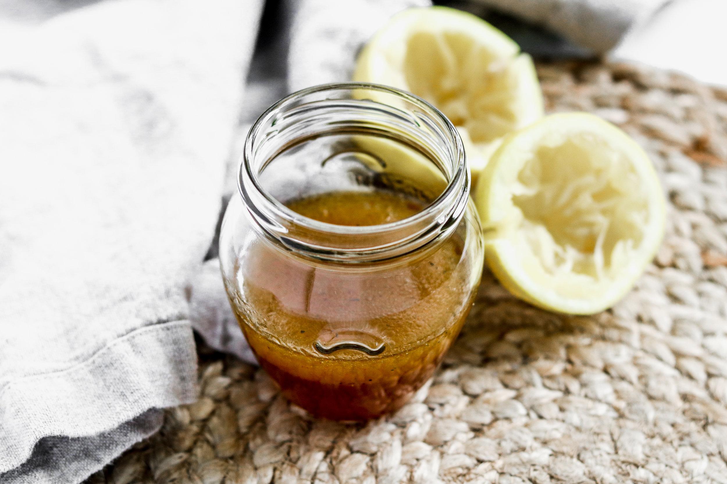 Lemon Honey Dressing