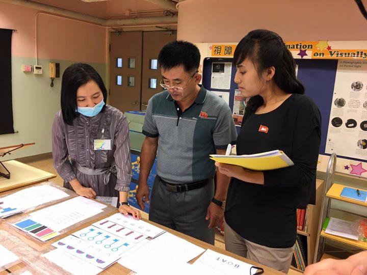 North Korean doctors receiving exposure to Visual Discrimination Therapy in Hong Kong