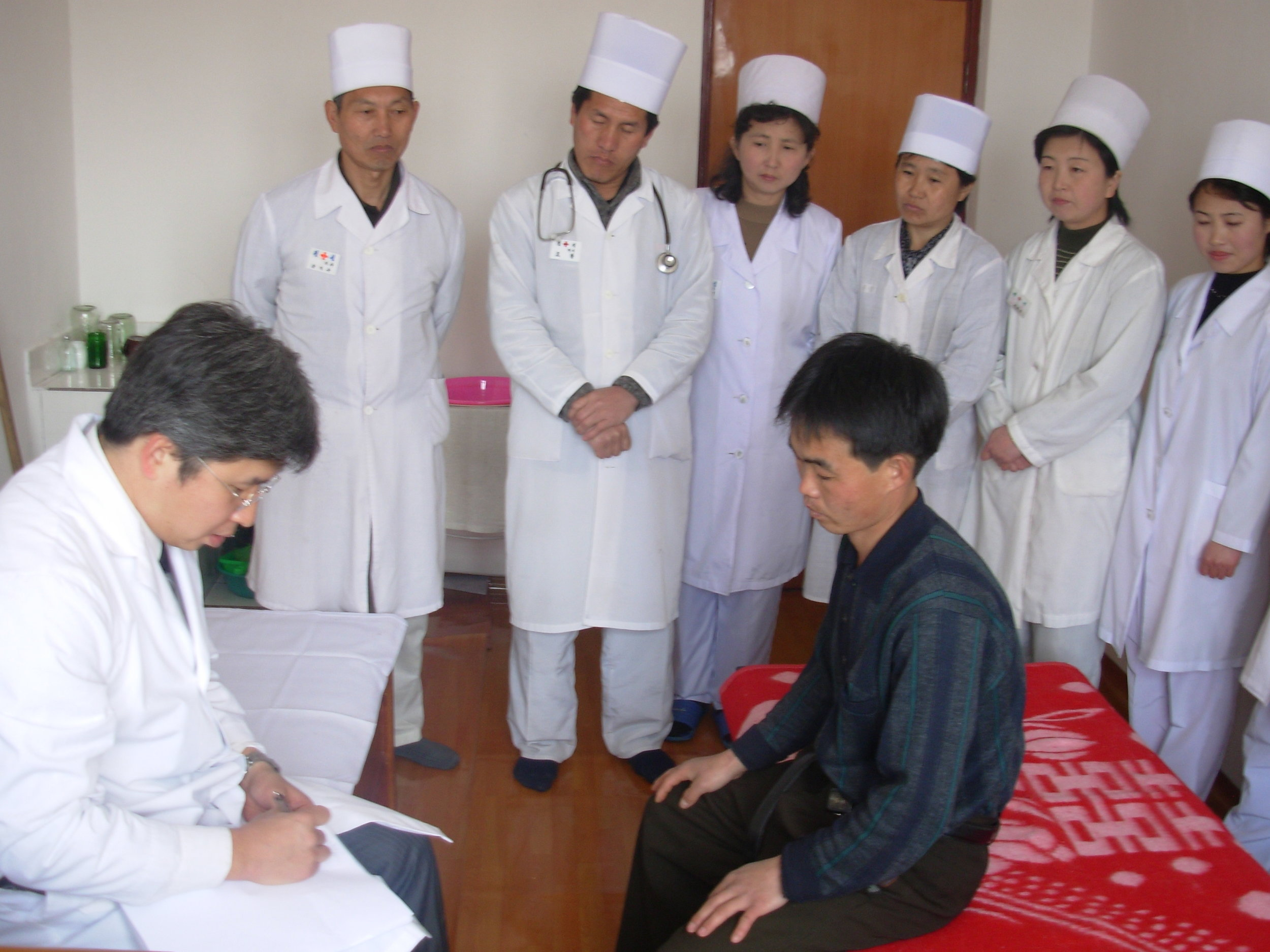 Stephen Yoon Treating Patients and Training Doctors in Northeast DPRK