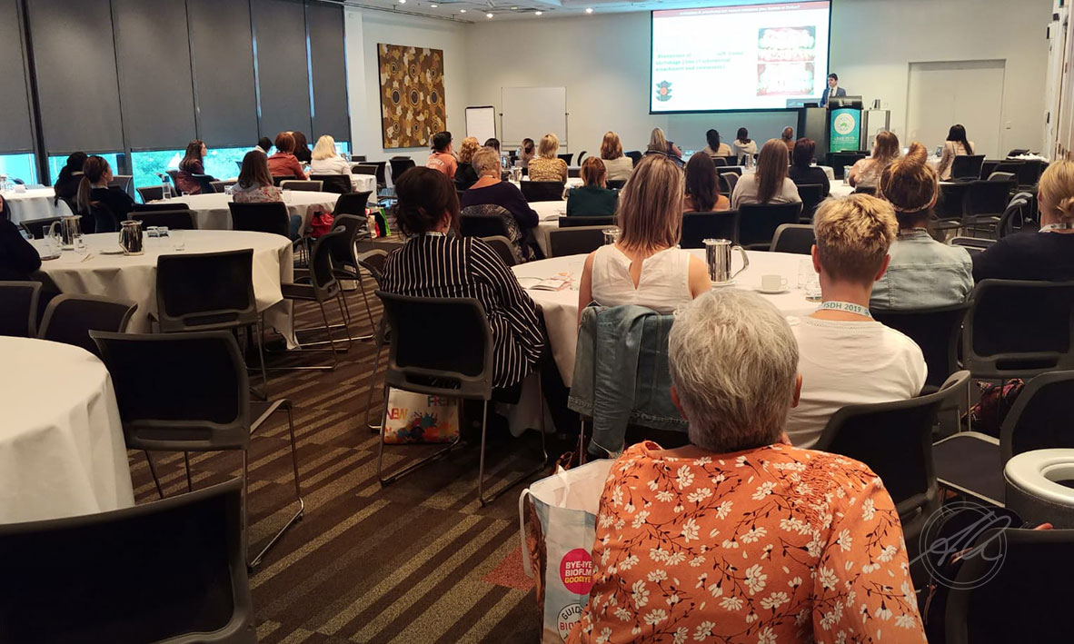 Participants attending Prof Quaranta's Presentation at the 21ST IFDH International Symposium on Dental Hygiene, Brisbane