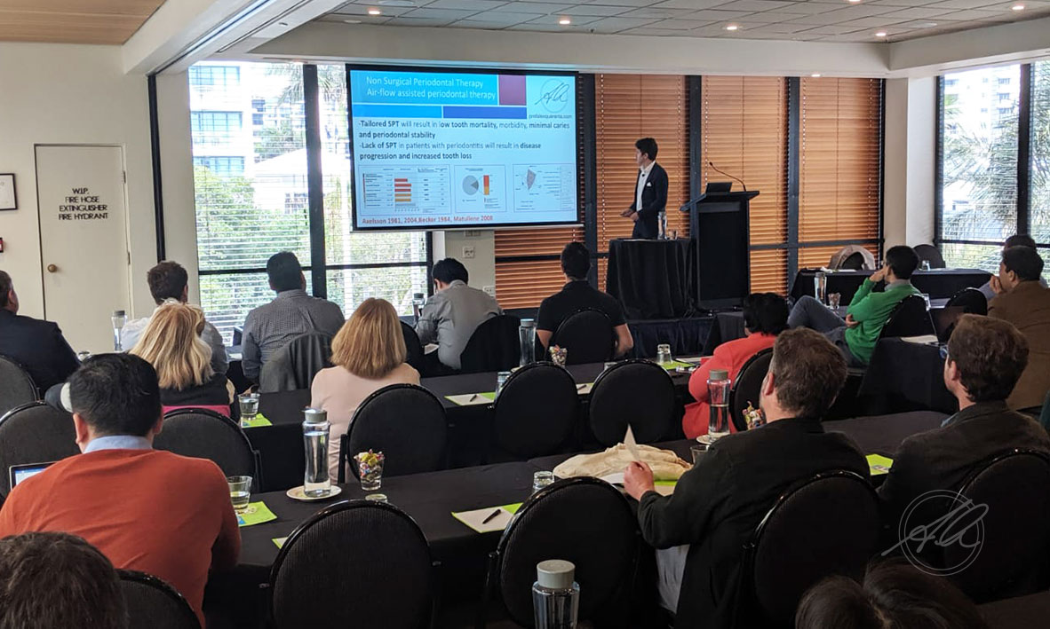 Prof Quaranta presenting at the ASP QLD Clinical Day, Gold Coast