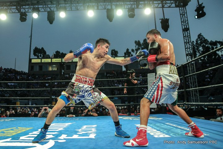 Leo Sant Cruz vs Chris Avalos