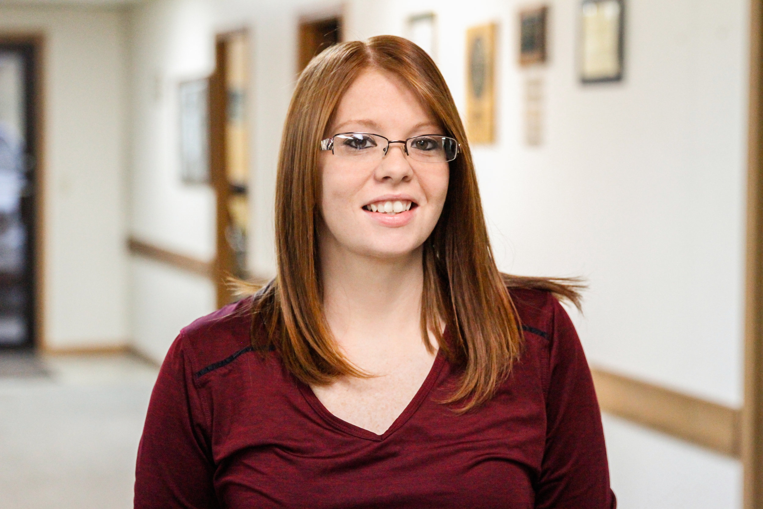 Amber Gregory | Receptionist