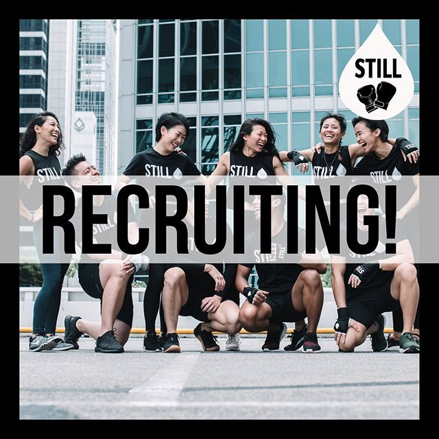 We're in search for new instructors to join our STILL team! 🥊  If you're a superstar looking for somewhere to shine, send in your application to Still@classpass.com now!  We look forward to hearing from you! ⭐🖤 • #STILLboxingsg • • • #singapore #OUEdowntown #STILLgroup #boxing #boxingfitness #cardioboxing #boxingresults #gloves #sweat #cardio #training #boxinggym #fitness #rnb #hiitworkout #boxingring #martialarts #cardio #sport #bodybuilding #karate #health #judo #boxer #fitspo #hardwork #champion #lifestyle