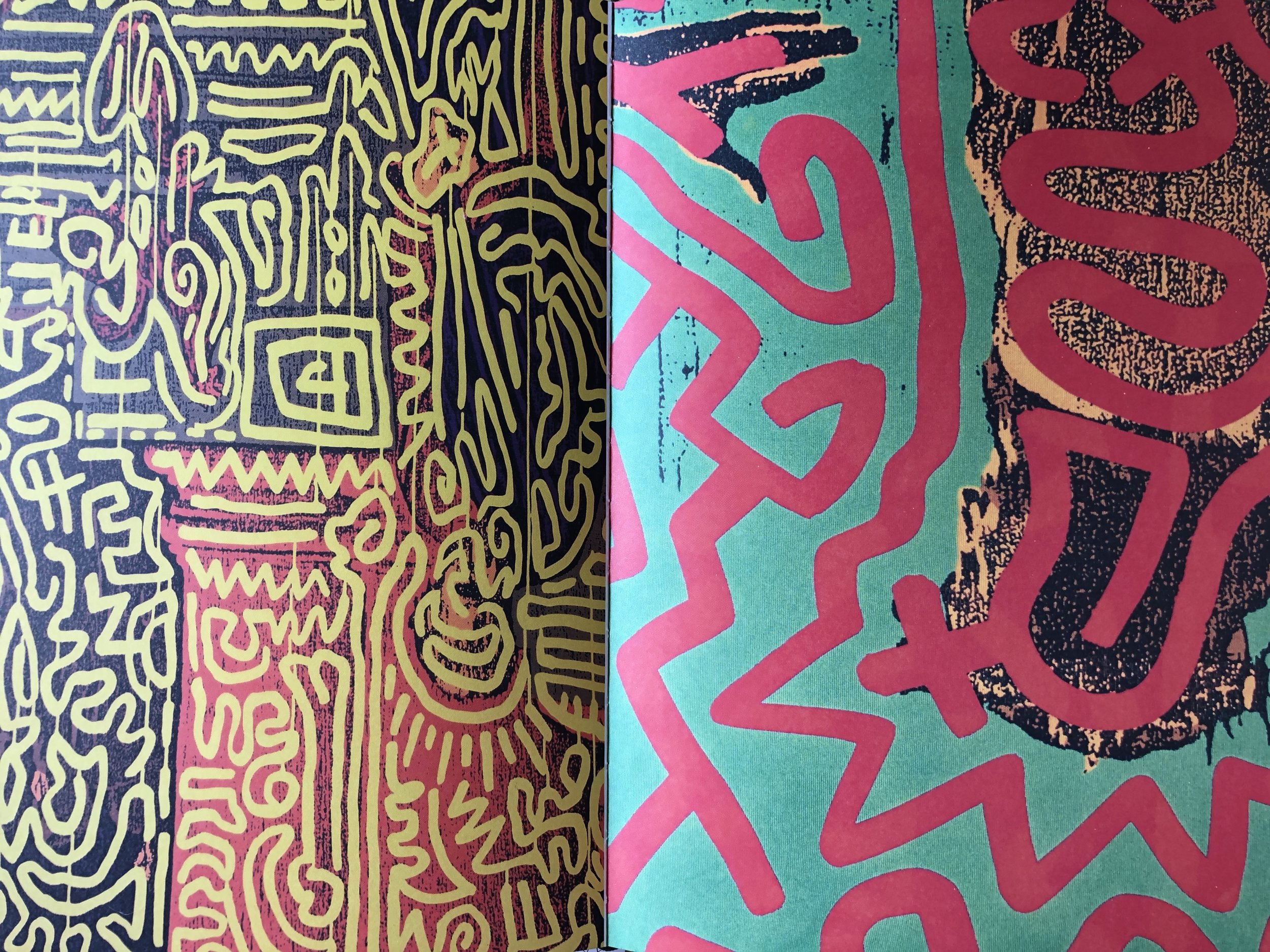 Graffiti, 1987 by Keith Haring x Stephen Sprouse