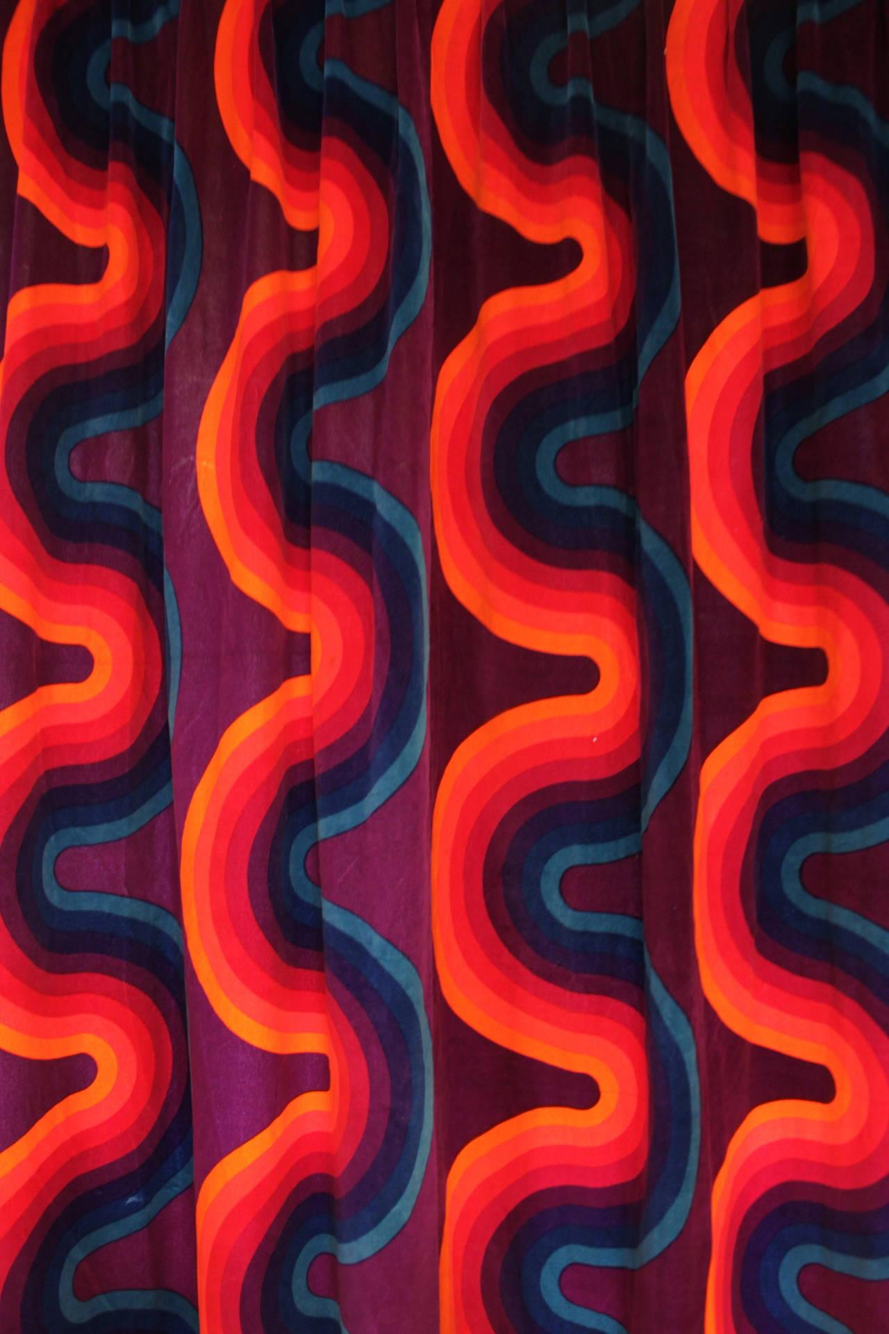 Curve Mira X, 1969-1974 by Verner Panton