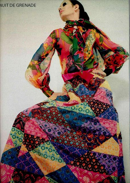 Patchwork, 1969 by Yves Saint Laurent