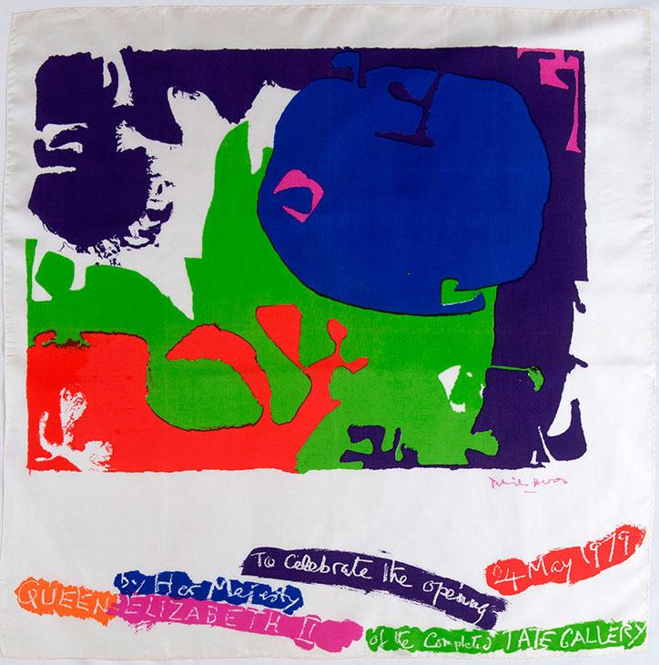 Tate Scarf, 1979 by Patrick Heron