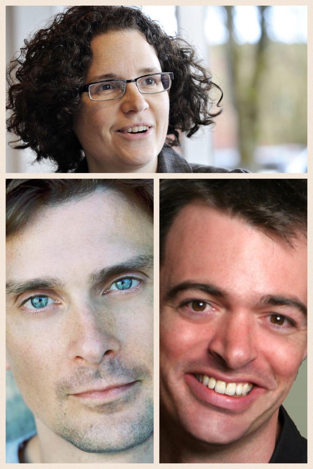 Anthea, Volker und Jason