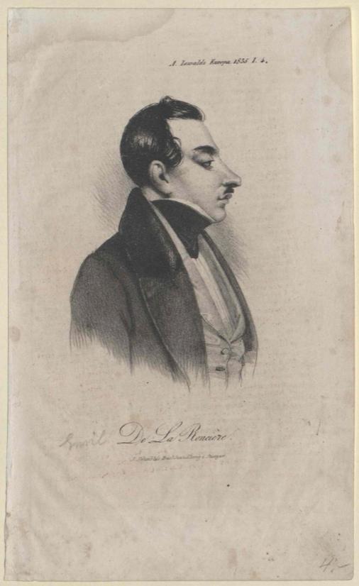 Lieutenant de la Roncière in 1835
