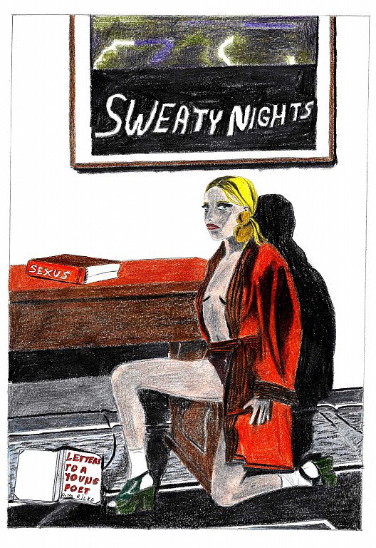 Sweaty nights poster (final), 2016