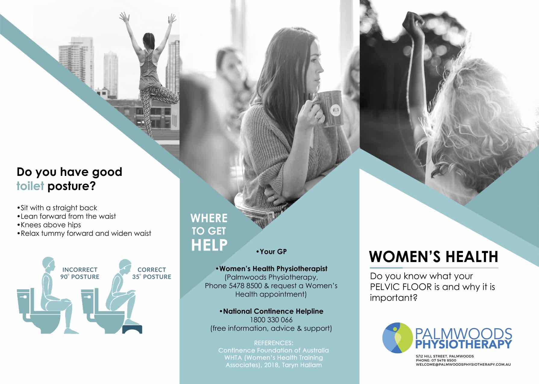 Palmwoods Physiotherapy Womens health brochure Page 1.jpg