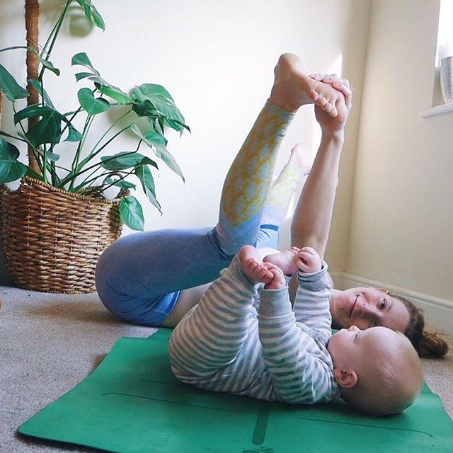 Two happy babies #happybabypose . . . . .  #motherhood #motherhoodunplugged #yogamom #yogi #yogini #postpartum #yogabeginner #beginneryoga #yogagram #yogapose #yogainspiration #yogaplay #yogaeveryday #yogagram #yogagirl #yogalife #yogalove #yogamum #mumandbabyyoga #yogisofinstagram #yogagirl #mum #yogapractice #asana #namaste #yogajourney #igyogacommunity