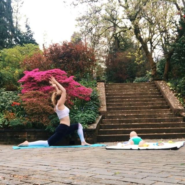 Out of balance off and on the mat. This little dude turned seven months 😲 today & I'm still without a routine, still chasing my own tail, still smiling & still loving him more every.single.day. Happy Easter friends 🐣 . . .  #motherhood #balance #yogamom #yogi #yogini #postpartum #yogabeginner #beginneryoga #yogagram #yogapose #yogainspiration #yogaplay #yogaeveryday #yogagram #yogagirl #yogalife #yogalove #yogamum #motherhoodunplugged #yogisofinstagram #yogagirl #mum #yogapractice #asana #namaste #yogajourney #igyogacommunity #babyyoga