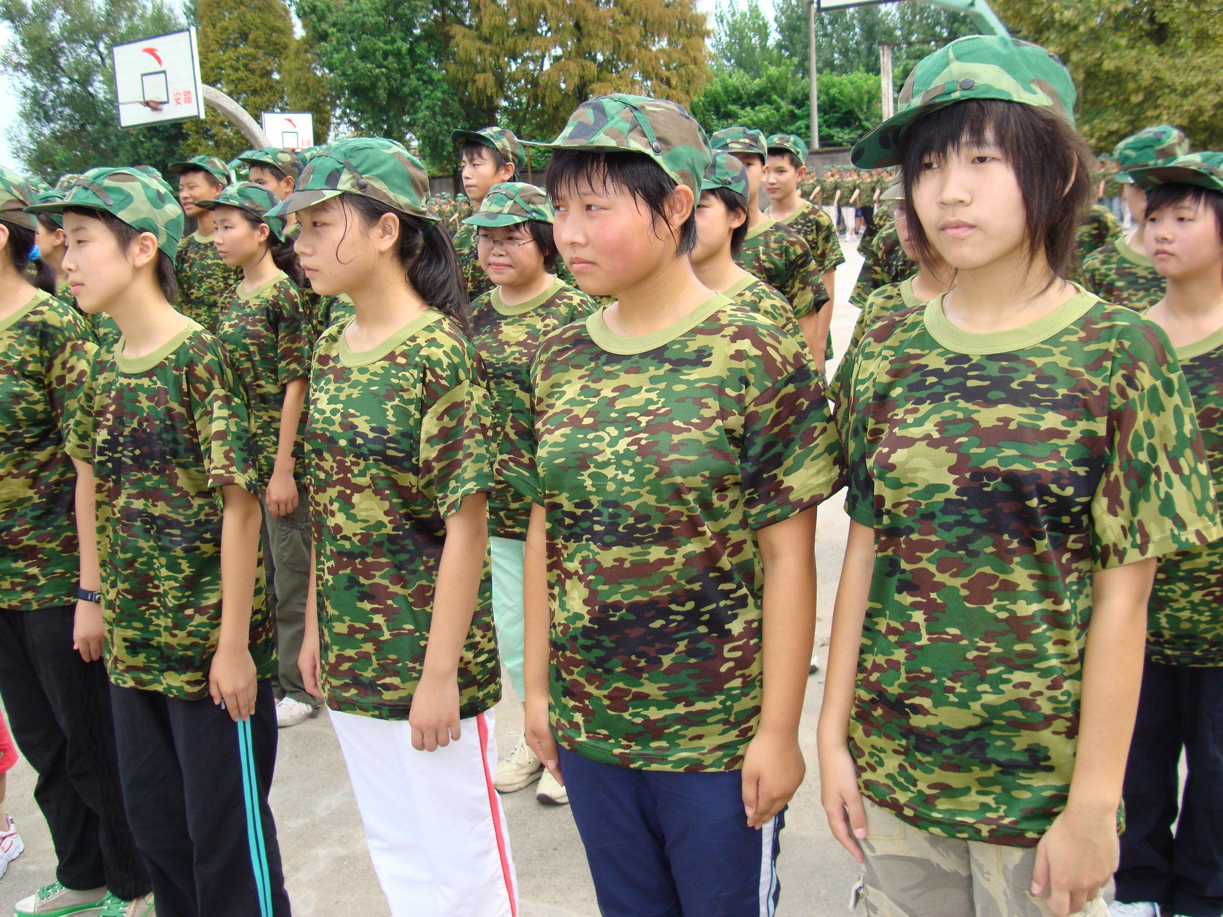 Chinese School - BBC Four. Producer/Director: Sarah Hamilton. Production Company: Lion Television