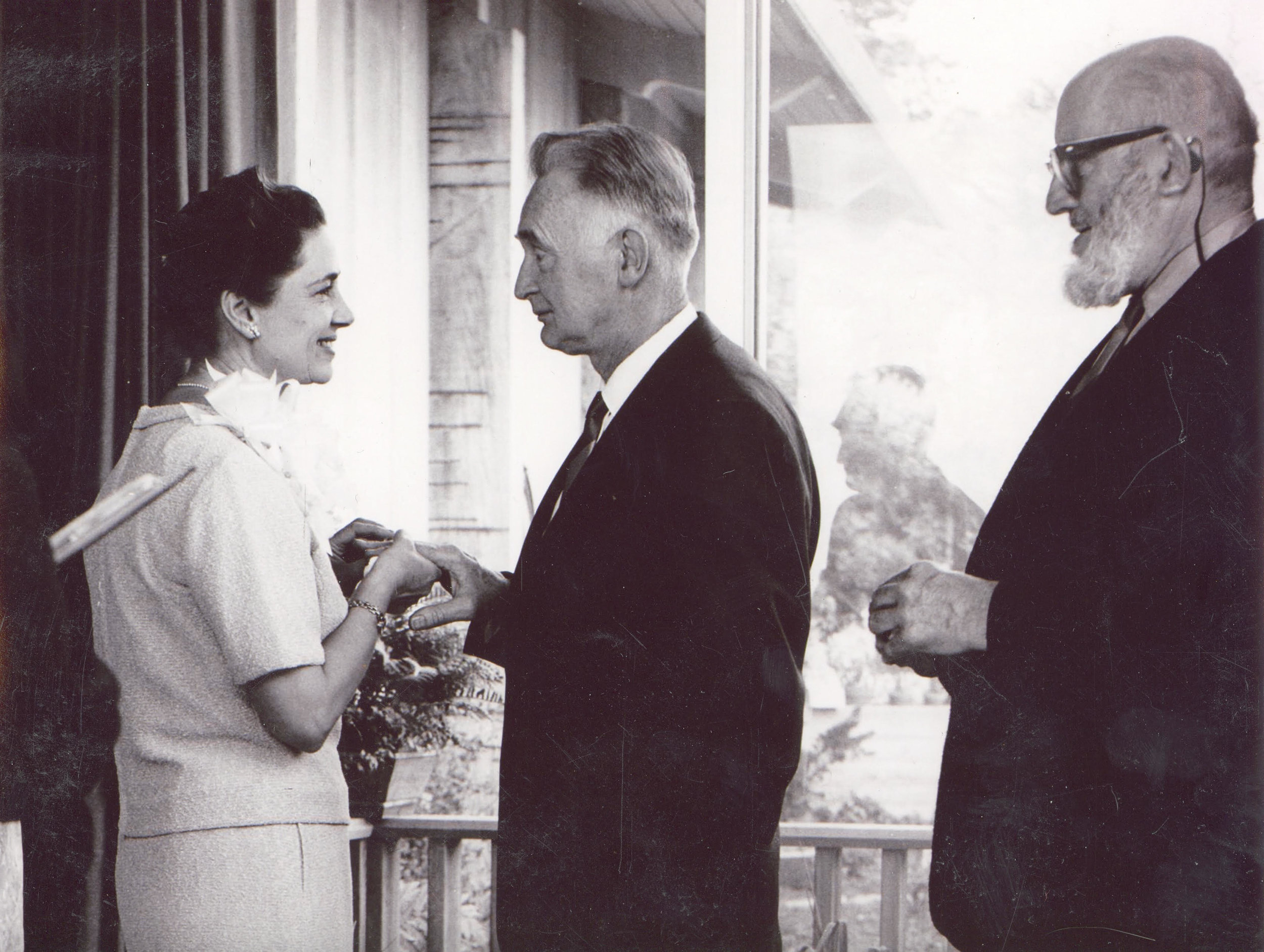 Ansel Adams - Pictured here as the Best Man in Gasser's Wedding
