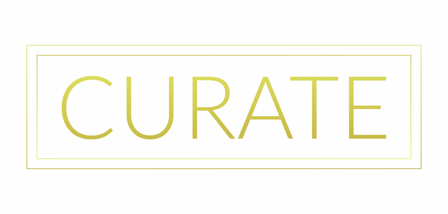Curate Art Group, art stylists for your environment. Curate delivers beautiful artwork options for all budgets and spaces; their clients include; hospitality, corporations, residential, healthcare, restaurants; they've recently worked on Embassy Suites, Crowne Plaza, and the Strava HQ.