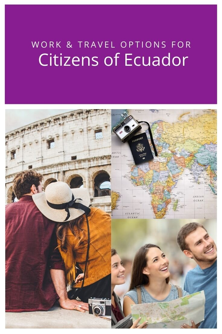 Working Holiday Visa For Ecuadorian Citizens Workingholidays Co