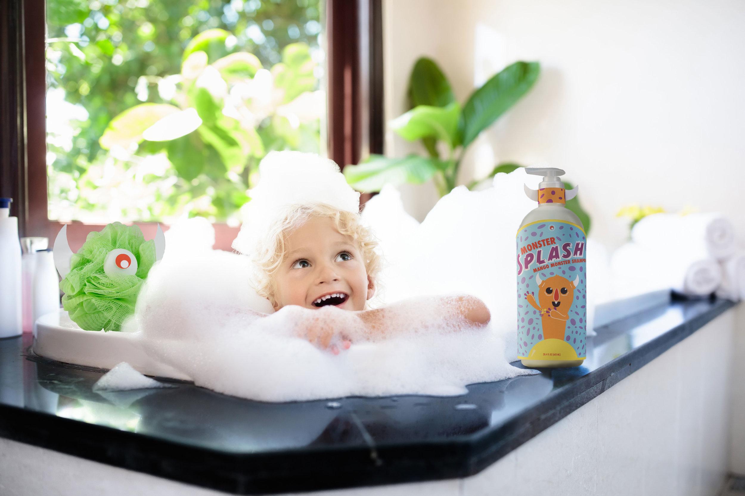 Monster Splash - Bring Fun Back to Bath time