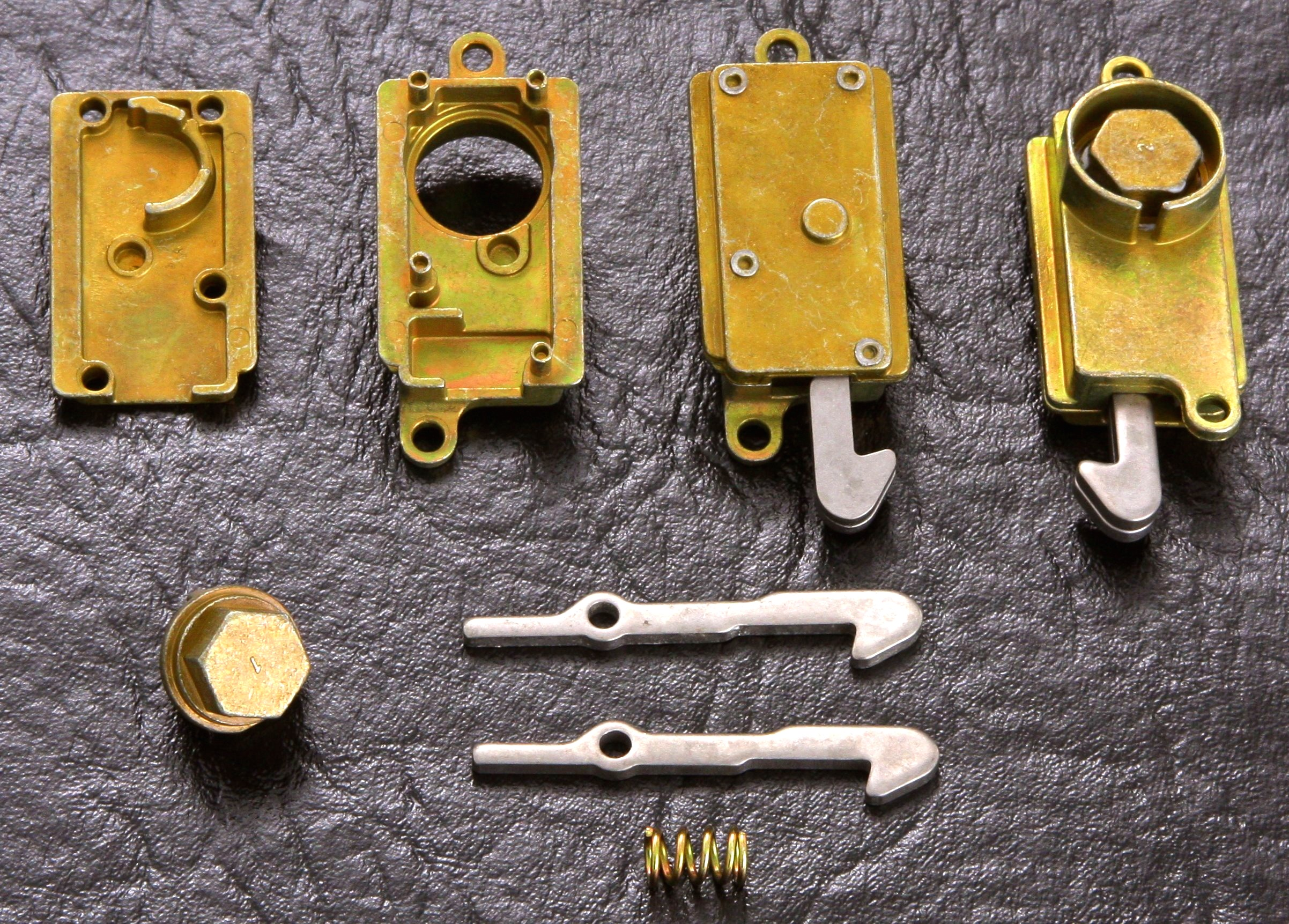 Telephone lock box assembly