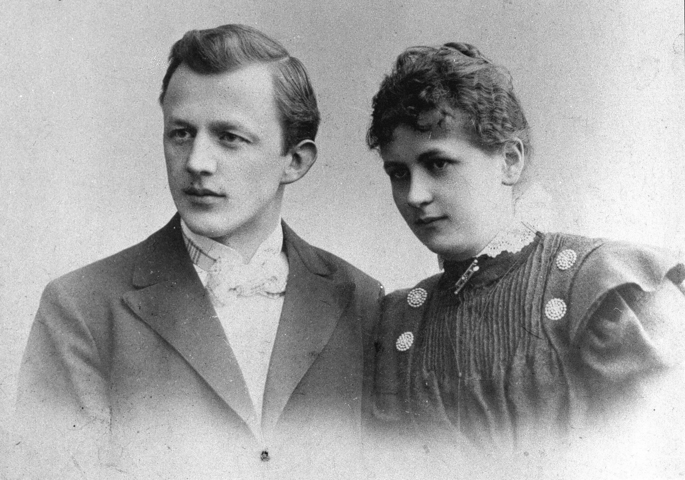 Melitta und Hugo 1897.jpg