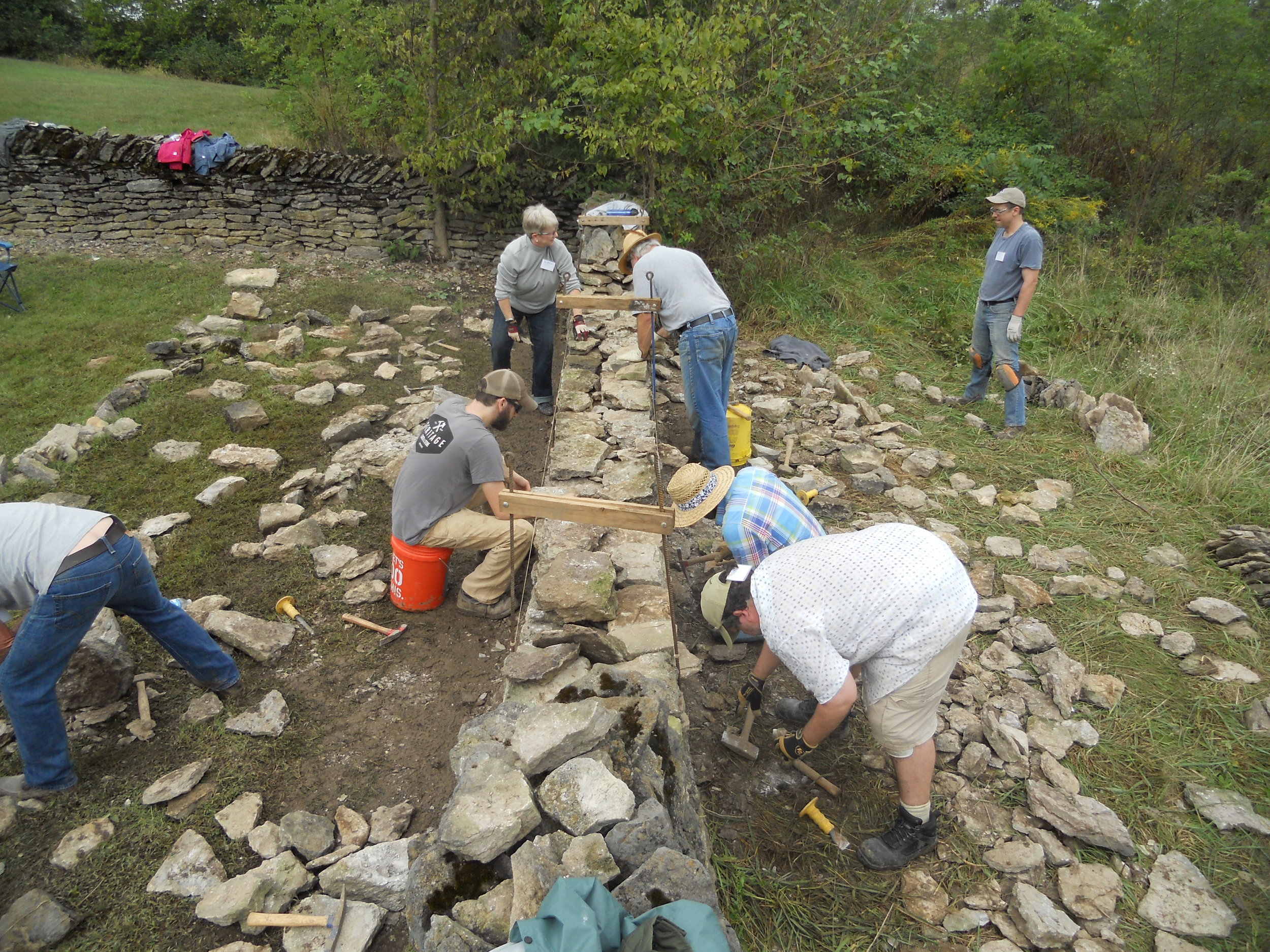 About Our Workshops — Dry Stone Conservancy