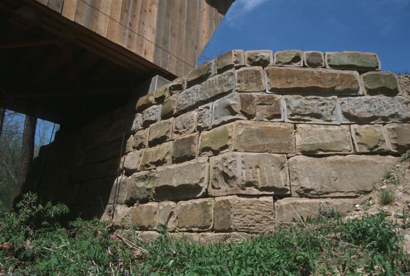 Bennett's Mill Covered Bridge 2003 -