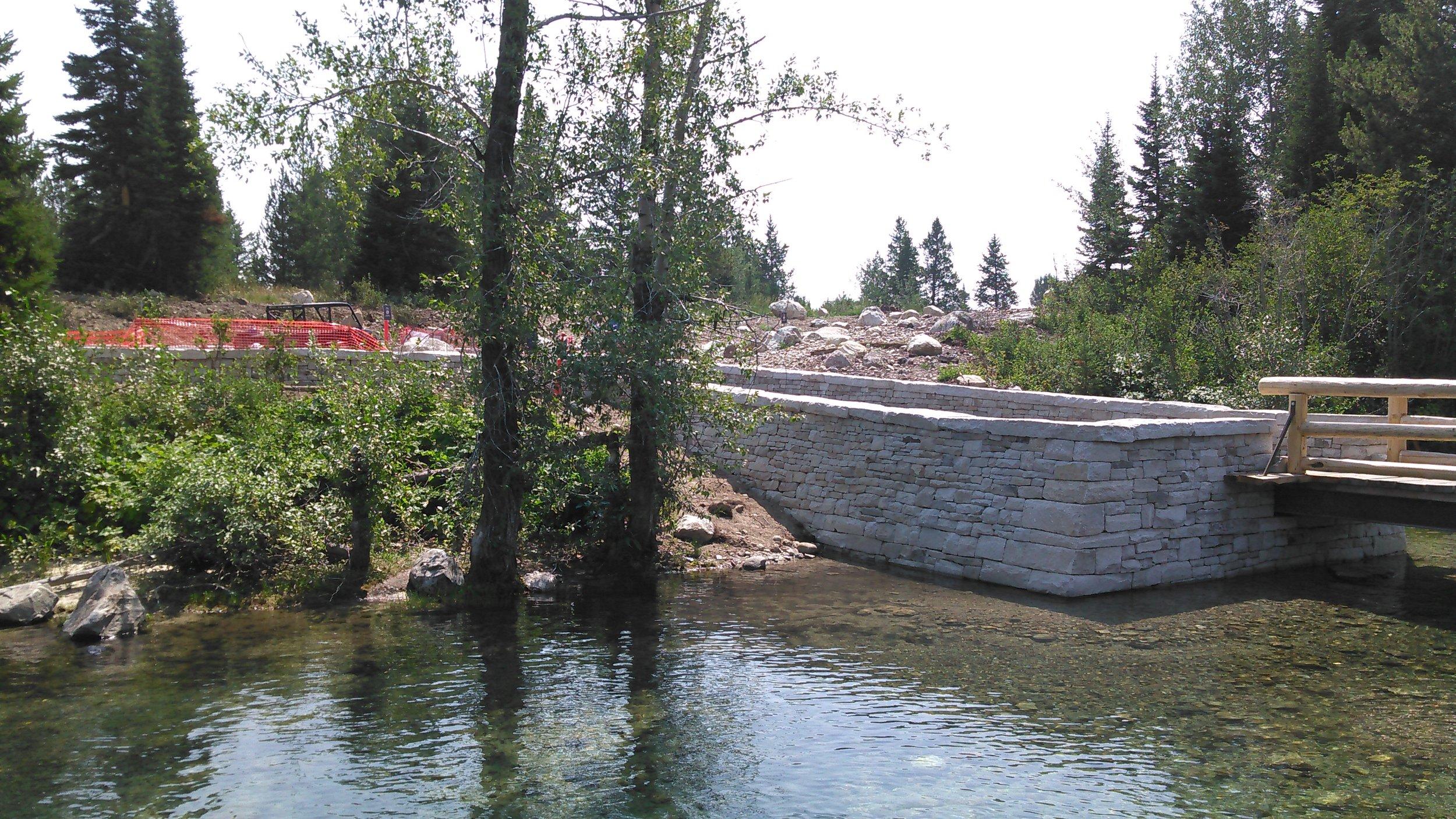 Gateway Plaza Dock Area, Grand Teton National Park 2017 -