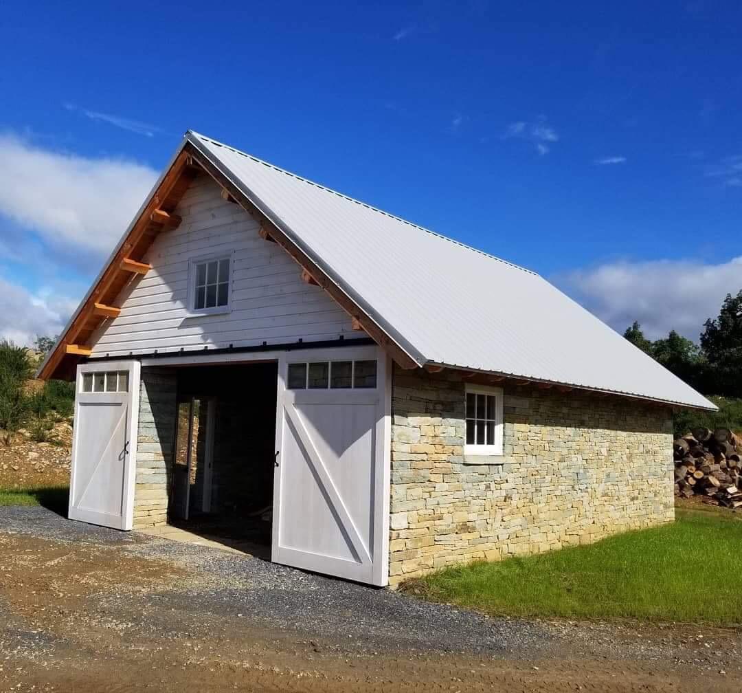 Woodshed at Carmel of Jesus, Mary, and Joseph 2018 -