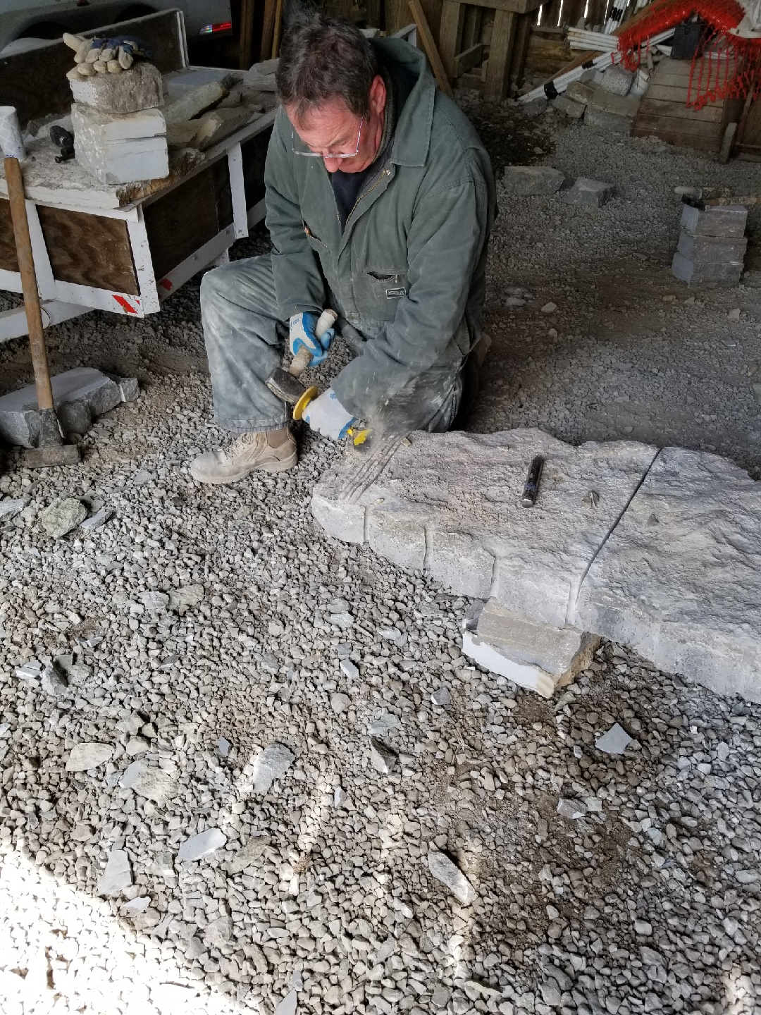 Stone Dressing Clinics - March 16-17, 2019 at Shaker Village of Pleasant Hill