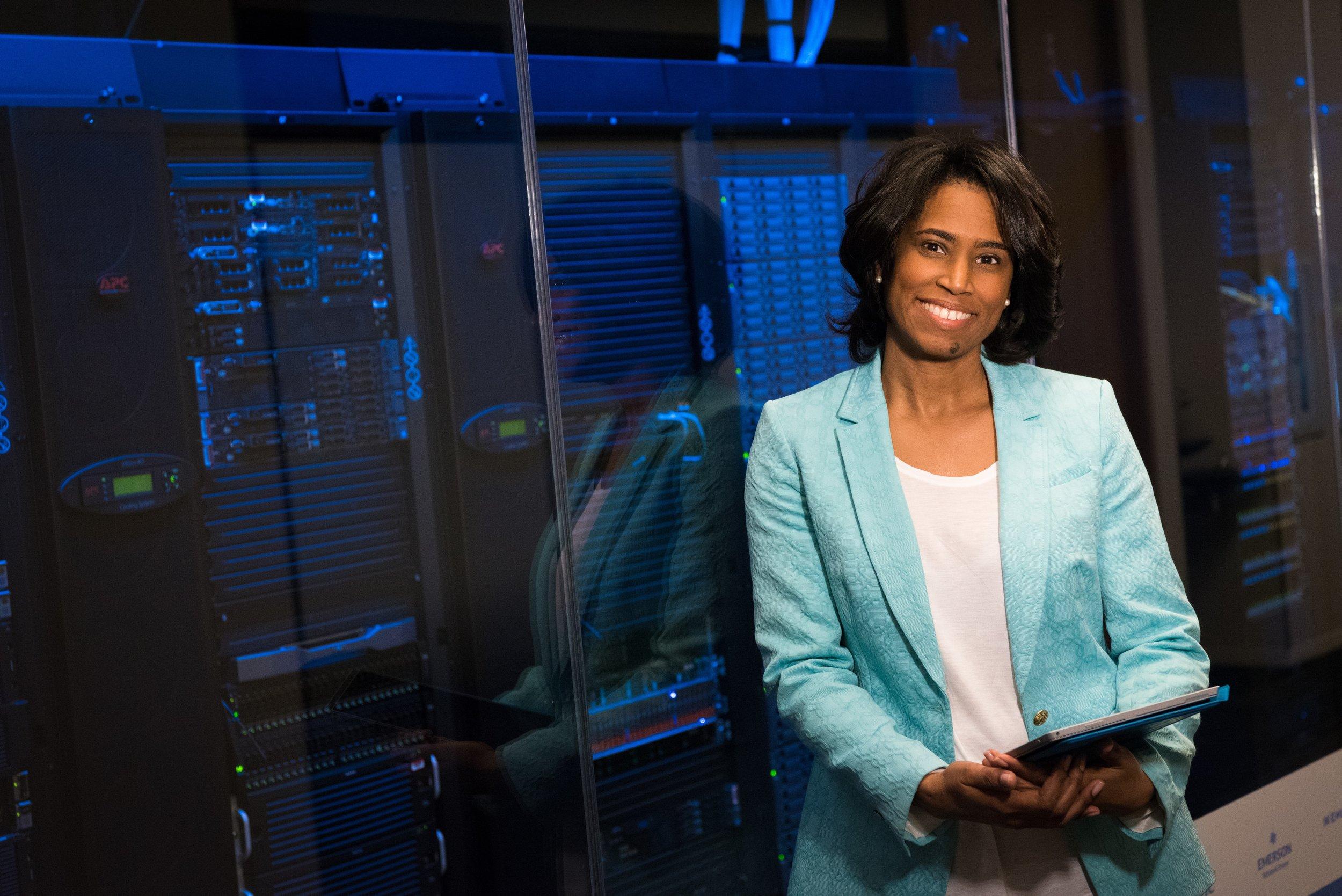 Woman in Technology Field