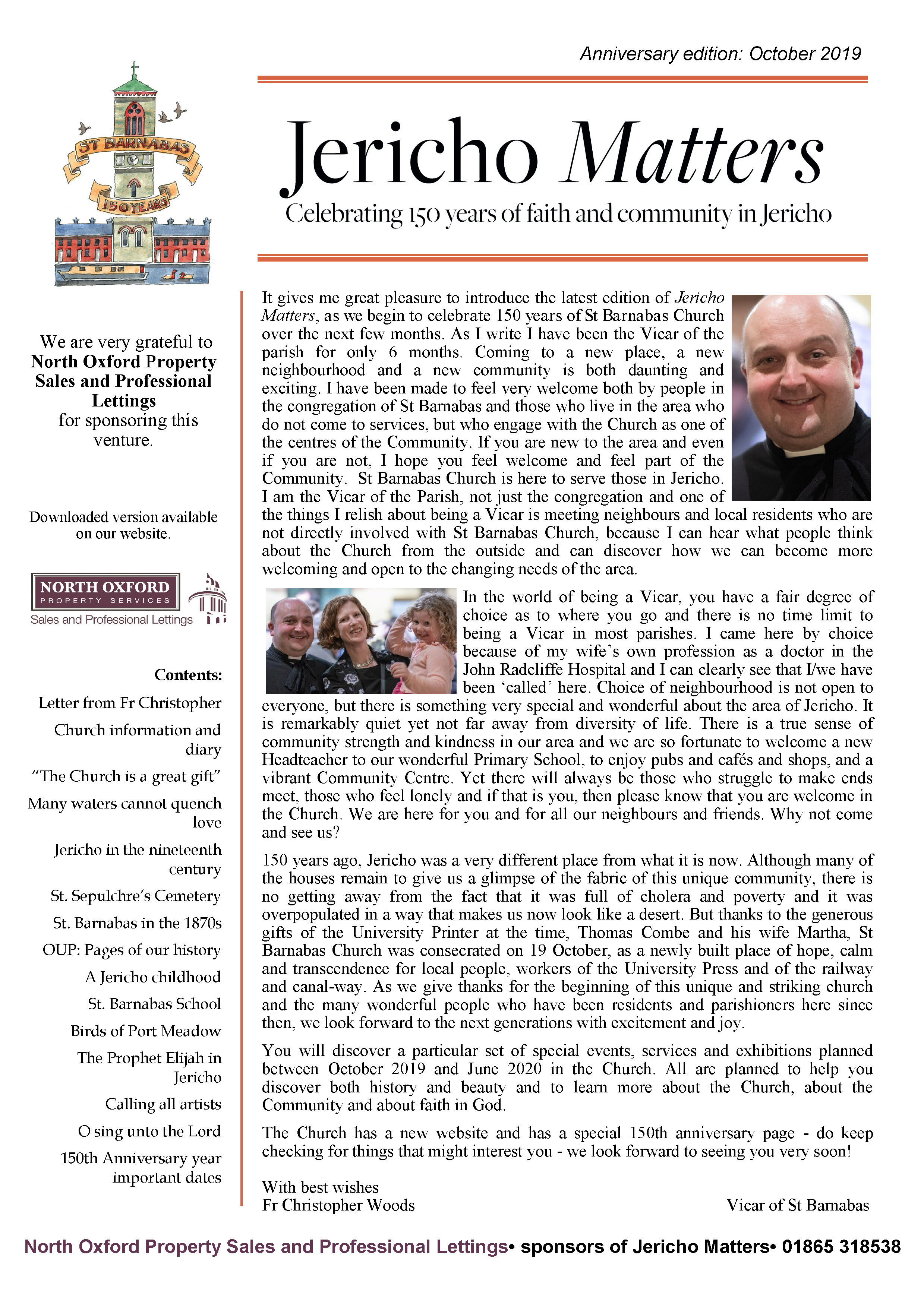 Click on the image to download the PDF edition of Jericho Matters