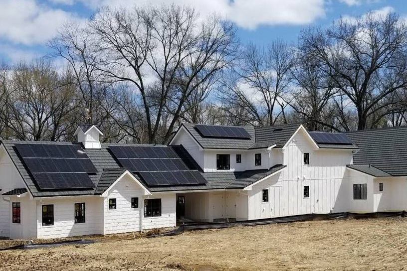 Solar Panels for New Builds - Solar energy is the most effective way for any building owner to reduce electricity costs, and it is becoming more and more popular in new building construction. When building new, you can drastically increase the value of the building and sell it faster and easier.