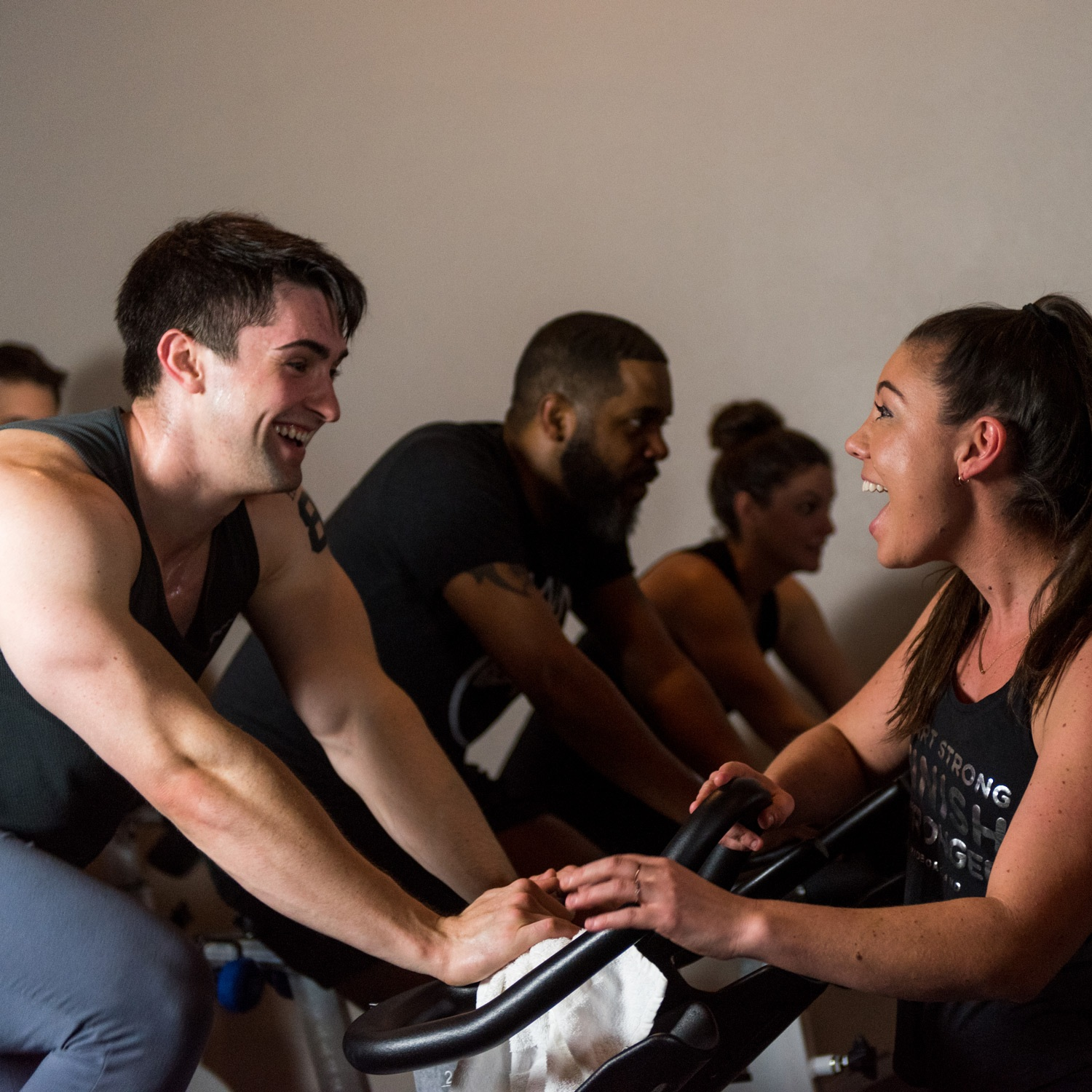 Indoor cycling - Come for our award-winning, seriously fun RIDE (spinning) classes on our high-caliber bikes.