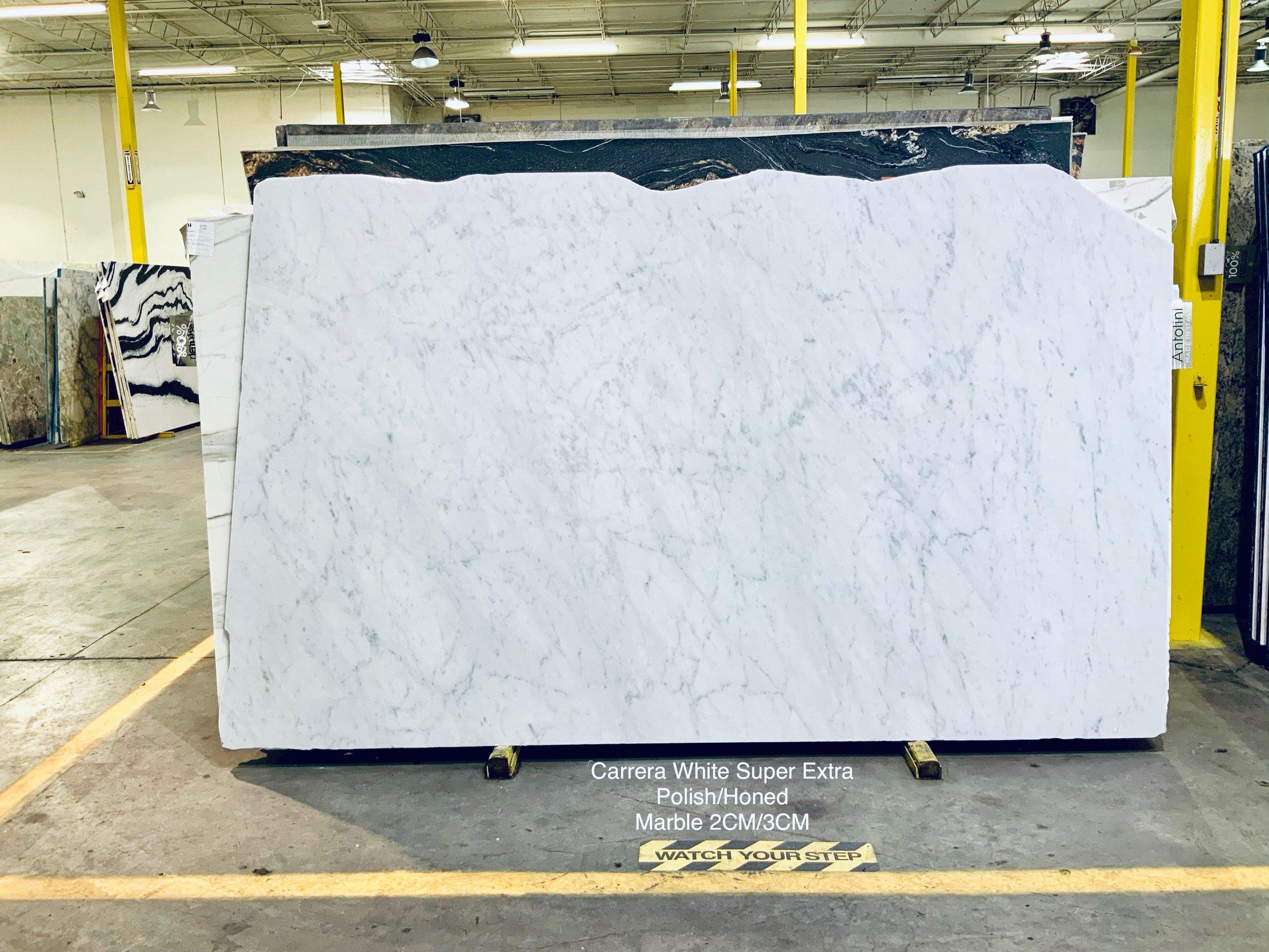 Carrara White Super Extra
