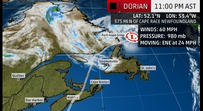 ARTICLE: Dorian Strengthens Into a Category 5 Hurricane, Catastrophic Strike in Northwest Bahamas Nears
