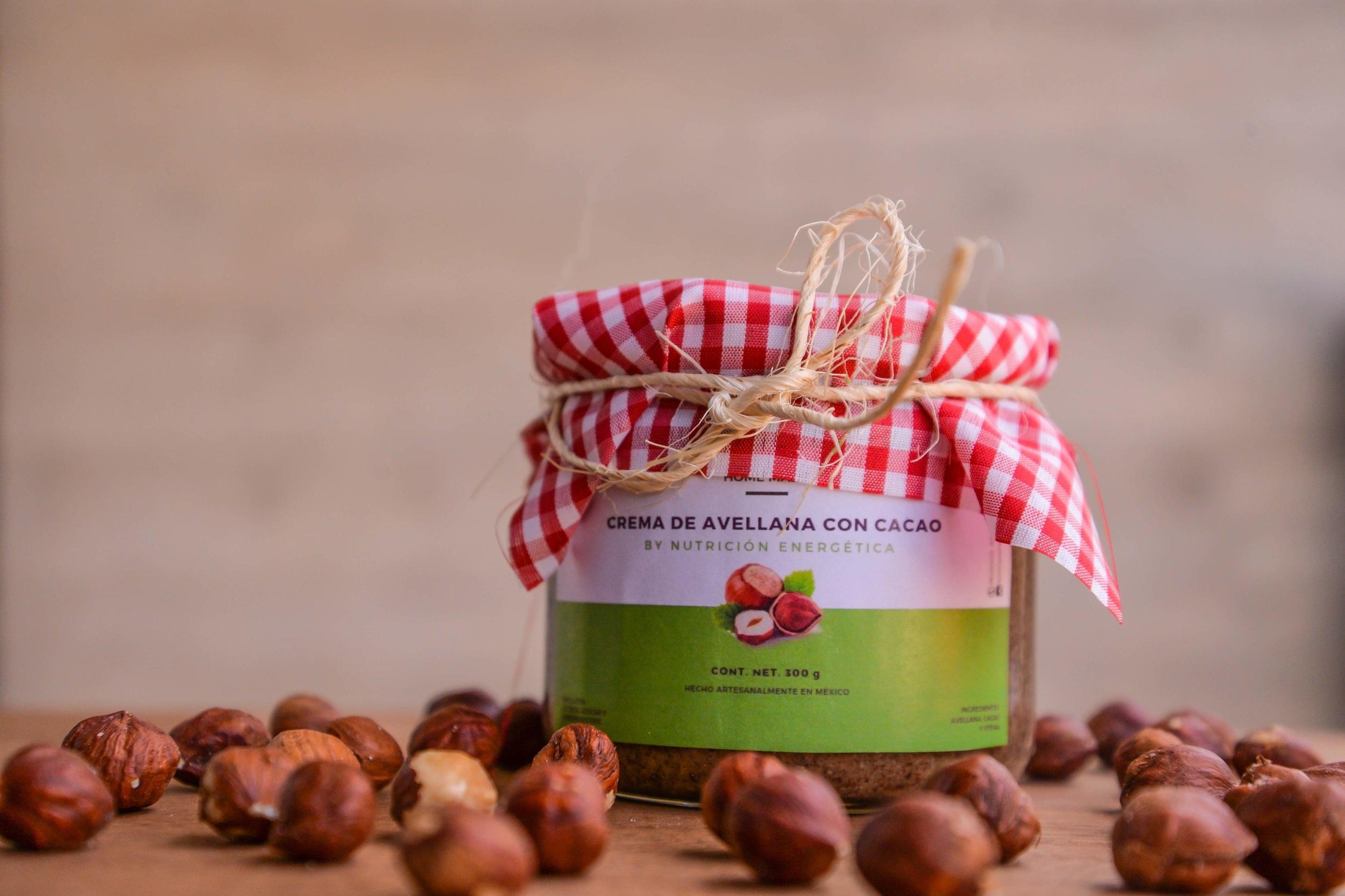 Crema de Avellana con Cacao - 300 gr