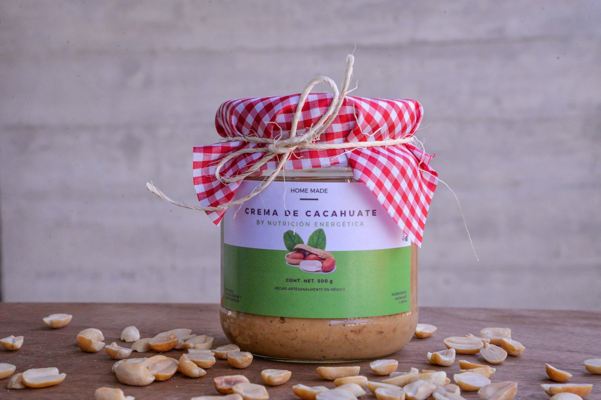 Crema de Cacahuate - 500 gr