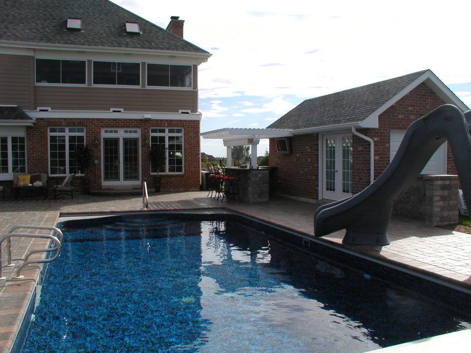Peotone, IL beautiful and durable pool decks