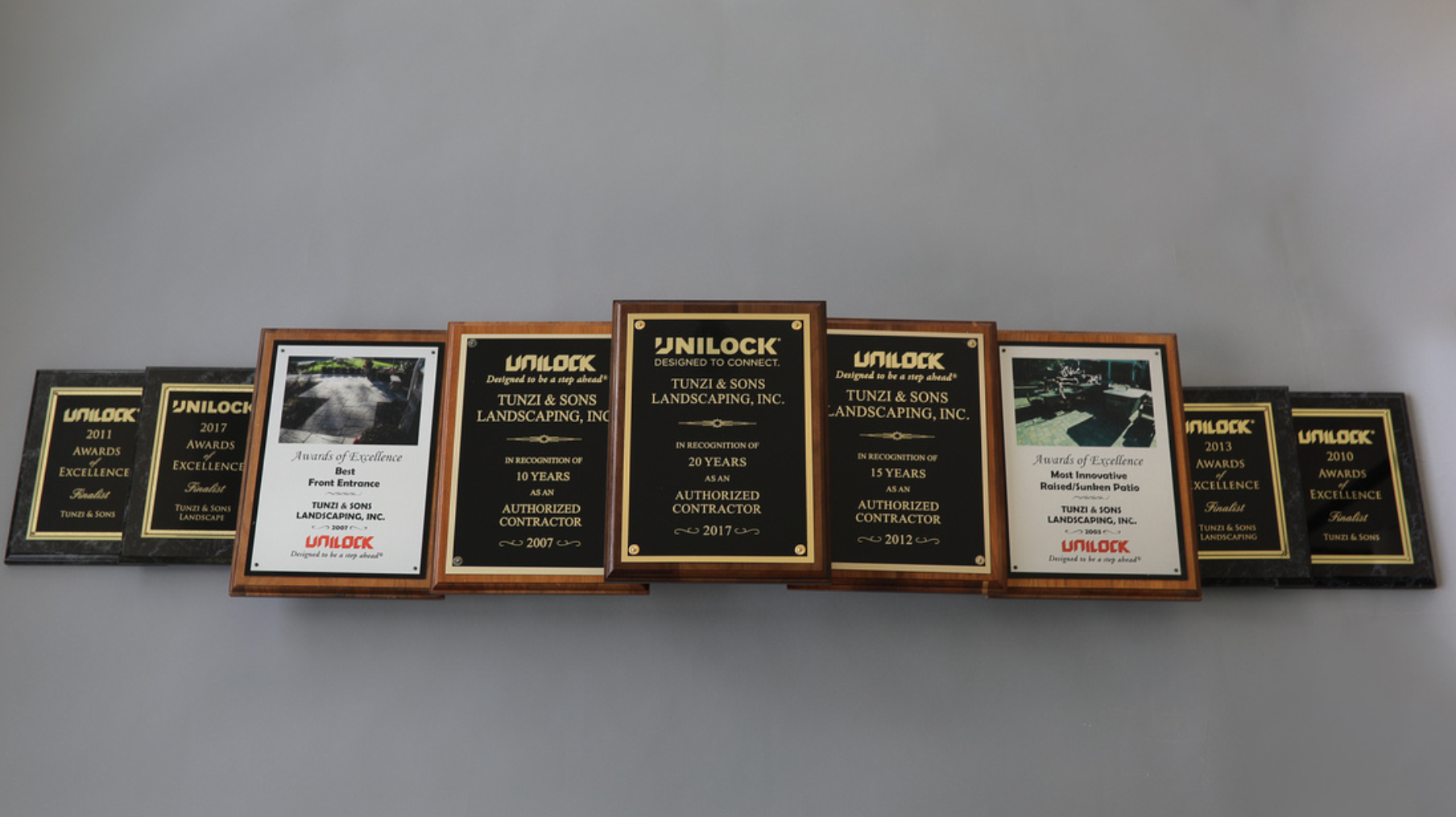 Awards for top quality landscaping in Peotone, IL